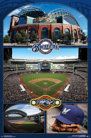 Milwaukee Brewers- Miller Park 2016 Prints