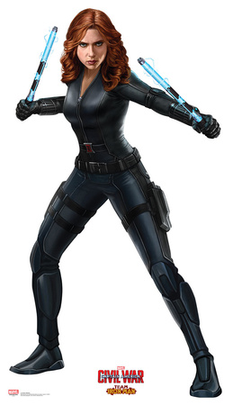 Black Widow (Scarlett Johansson) Marvel Comics standee