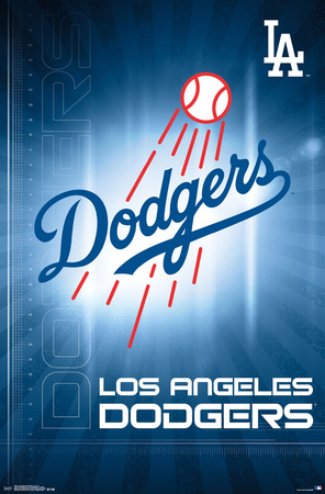 Los Angeles Dodgers- Logo 2016 Posters