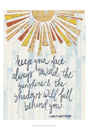 Sunny Day Words II Prints by Grace Popp