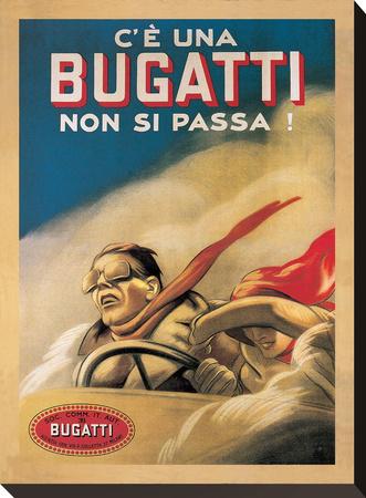 Bugatti, 1922 Stretched Canvas Print by Marcello Dudovich
