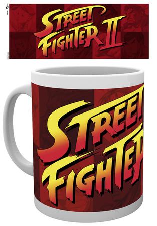 Street Fighter Logo Mug Tazza