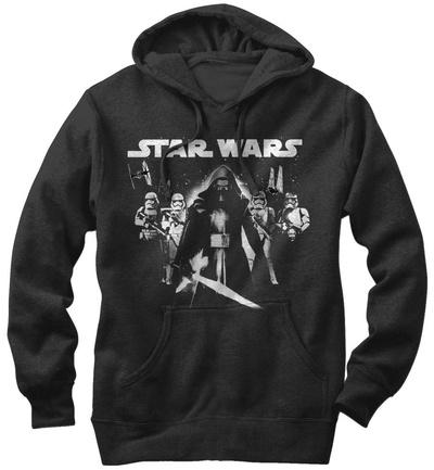 Hoodie: Star Wars The Force Awakens- Kylo Ren In The Lead Pullover Hoodie