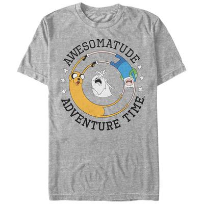 Adventure Time- Awesomatude Circle Shirt
