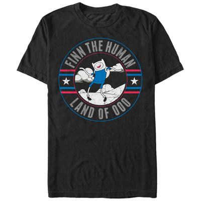 Adventure Time- Finn In OOO T-shirts
