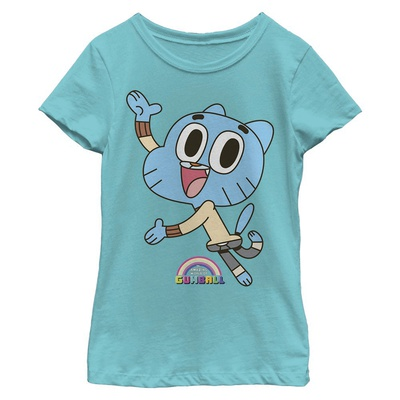 Young Girls: Gumball- Happy Jump Tシャツ