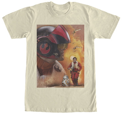 Star Wars The Force Awakens- Poe Dameron T-shirts