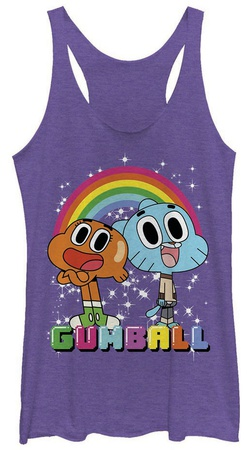 Juniors Tank Top: Gumball- Best Friends Womens Tank Tops