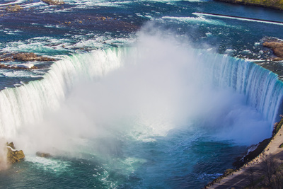 A Scenic Aerial View of Horseshoe Falls Photographic Print by Mike Theiss