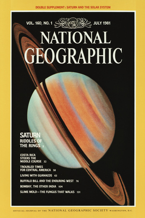 Cover of the July, 1981 National Geographic Magazine Photographic Print
