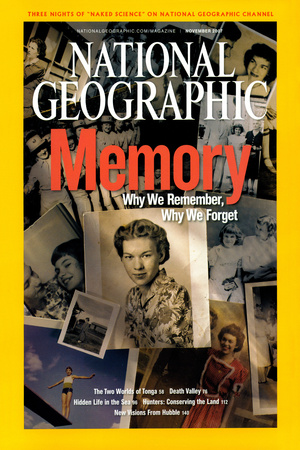 Cover of the November, 2012 National Geographic Magazine Photographic Print by Rebecca Hale