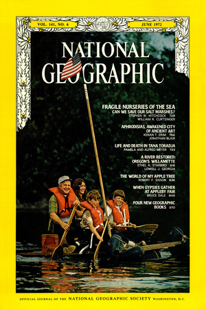 Cover of the June, 1972 National Geographic Magazine Photographic Print by Lowell Georgia