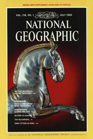 Cover of the July, 1980 National Geographic Magazine Photographic Print by James L. Stanfield