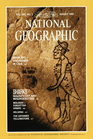 Cover of the August, 1981 National Geographic Magazine Photographic Print by W.E. Garrett