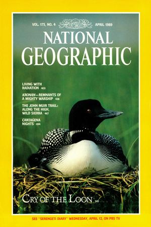 Cover of the April, 1989 National Geographic Magazine Photographic Print by Michael S. Quinton