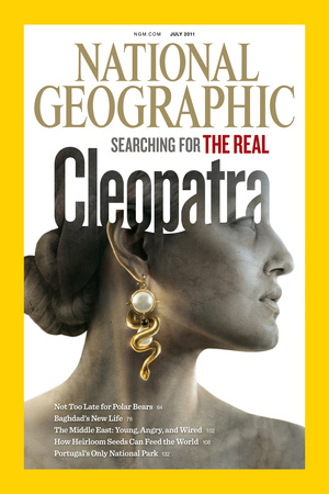 Cover of the July, 2011 National Geographic Magazine Photographic Print by Sam Weber