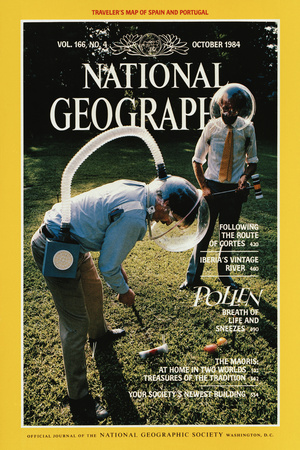 Cover of the October, 1984 National Geographic Magazine Photographic Print by Martha Cooper