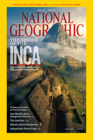 Cover of the April, 2011 National Geographic Magazine Photographic Print by  Tritone Images