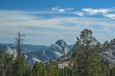 Half Dome Dominates the View from Olmstead Point, Yosemite National Park, California Photographic Print by Gordon Wiltsie