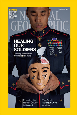 Cover of the February, 2015 National Geographic Magazine Photographic Print by Lynn Johnson