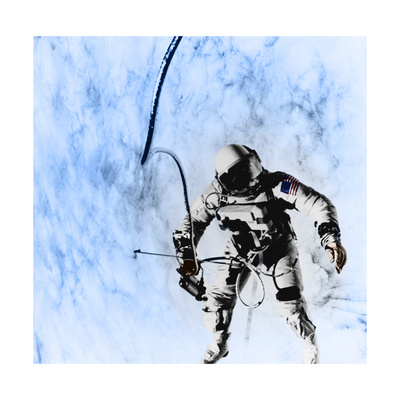 First American EVA, Gemini 4 Mission, 1965 Giclee Print by  Science Source