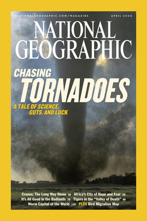Cover of the April, 2004 National Geographic Magazine Photographic Print by Carsten Peter