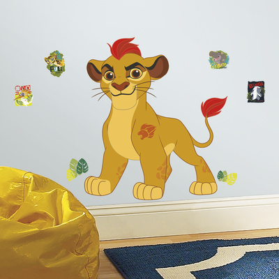 Lion Guard Kion Peel and Stick Giant Wall Decals Wall Decal