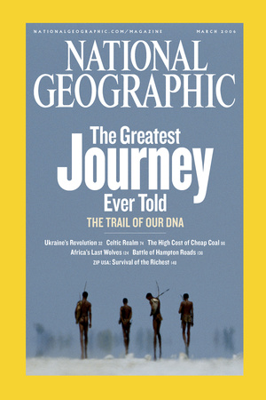 Cover of the March, 2006 National Geographic Magazine Photographic Print by Chris Johns