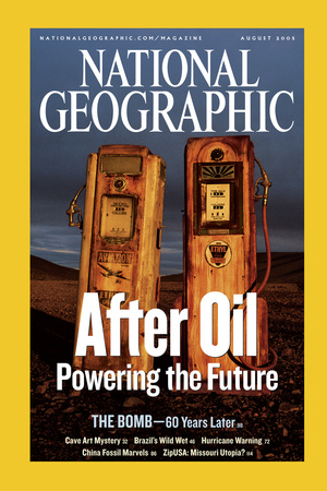 Cover of the August, 2005 National Geographic Magazine Photographic Print by Sarah Leen