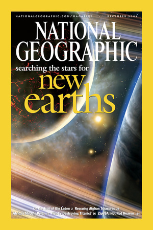 Cover of the December, 2004 National Geographic Magazine Photographic Print by Dana Berry