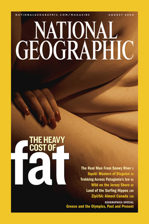 Cover of the August, 2004 National Geographic Magazine Photographic Print by Karen Kasmauski