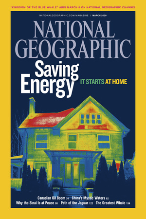 Cover of the March, 2009 National Geographic Magazine Photographic Print by Tyrone Turner