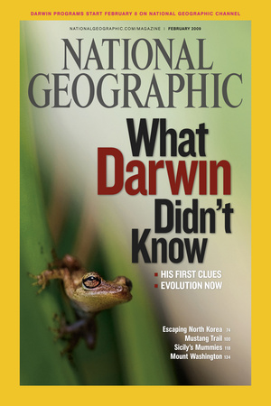 Cover of the February, 2009 National Geographic Magazine Photographic Print by Mattias Klum