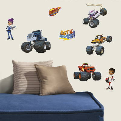 Blaze & the Monster Machines Peel and Stick Wall Decals Wall Decal