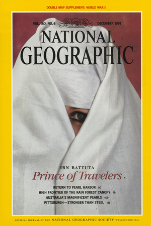 Cover of the December, 1991 National Geographic Magazine Photographic Print by James L. Stanfield