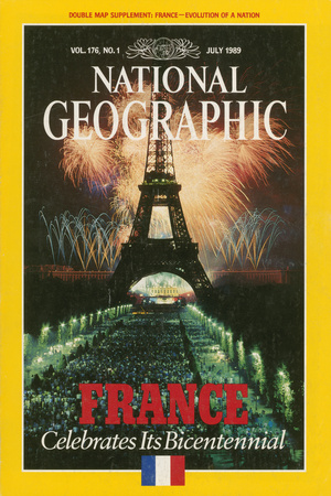 Cover of the July, 1989 National Geographic Magazine Photographic Print by James L. Stanfield