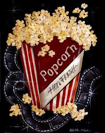 Popcorn Print by Kate McRostie