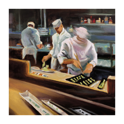 Fast Food Giclee Print by  Jessen
