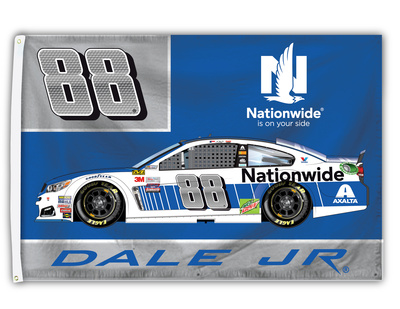 Dale Jr. 1-Sided Flag with Number Flag