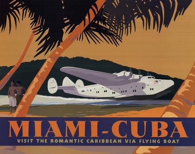 Miami-Cuba Prints by David Grandin