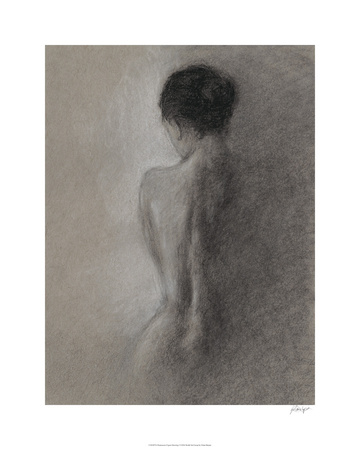 Chiaroscuro Figure Drawing I Limited Edition by Ethan Harper