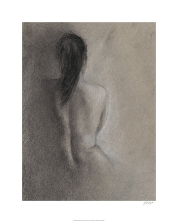 Chiaroscuro Figure Drawing II Limited Edition by Ethan Harper