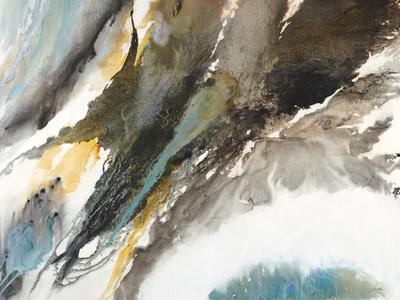 Liquid Mercury Print by Liz Jardine