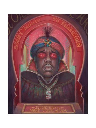 Biggie Says Poster av Aaron Jasinski