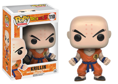 DBZ Krillin Anime POP Bobblehead figure as desk toy office gift