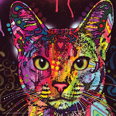Dean Russo- Cat Whiskers Print by Dean Russo