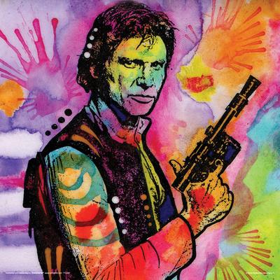 Dean Russo- Solo Hero Gun Print by Dean Russo