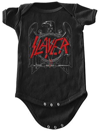 Infant: Slayer-  Black Eagle Onesie Infant Onesie