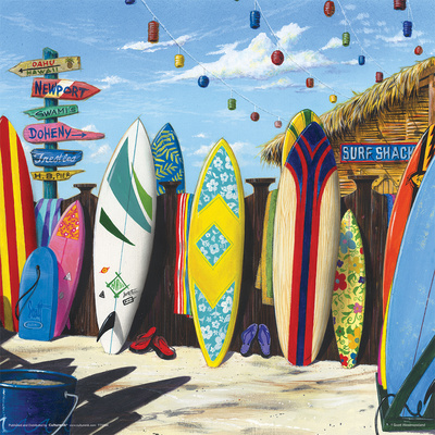 Scott Westmoreland- Surf Shack Prints by Scott Westmoreland