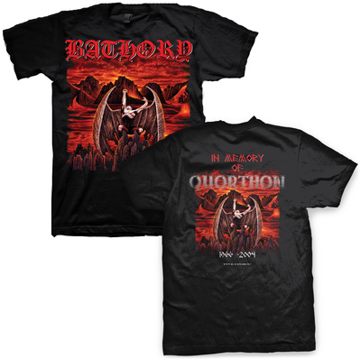 Bathory- In Memory (Front/Back) T-Shirt